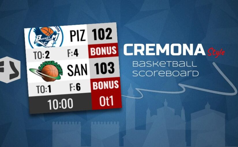 """""""Cremona style"""" New free Basketball template"""