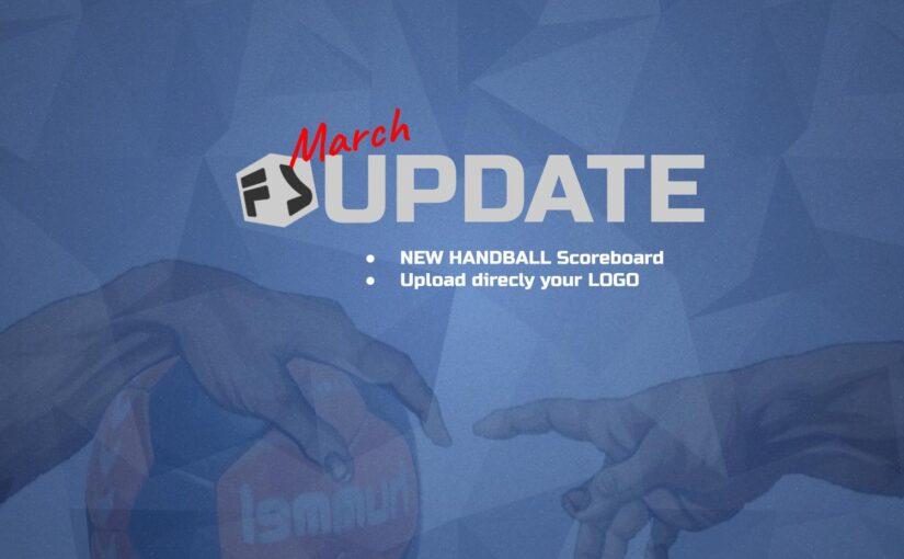 Flexyscore Update: New Handball score system and Logo uploader